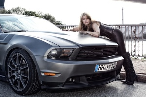 Mustang-Shooting mit Alex