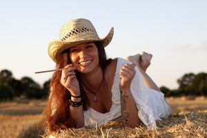 Country-Shooting mit Annika