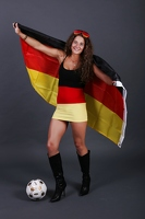WM-Fan-Shooting mit Mone