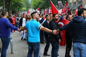 Demonstration türkischer Nationalisten